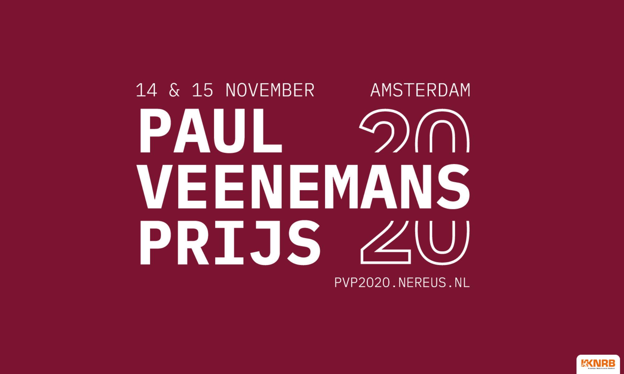Paul Veenemans Prijs 2020